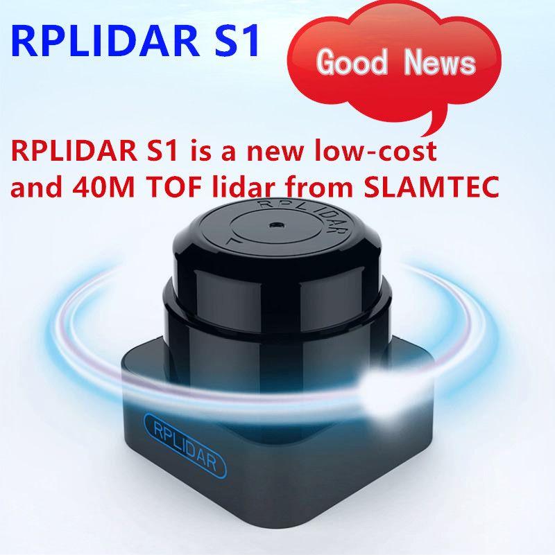 Niedrigen Kosten 360 Grad RPLIDAR S1 TOF 40 meter lidar sensor scanner für hindernis vermeidung und navigation von AGV UAV