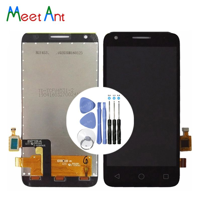 High Quality 4.5'' For Alcatel One Touch Pixi 3 4027D 4027X 4027A OT4027 LCD Display Screen With Touch Screen Digitizer Assembly