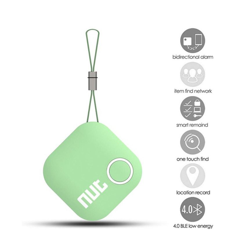 Smart Finder Bluetooth Smart Tracker Nut 2 Smart iTag Wireless Anti-lost Locator Key Luggage Tracker Support iOS Android Phone