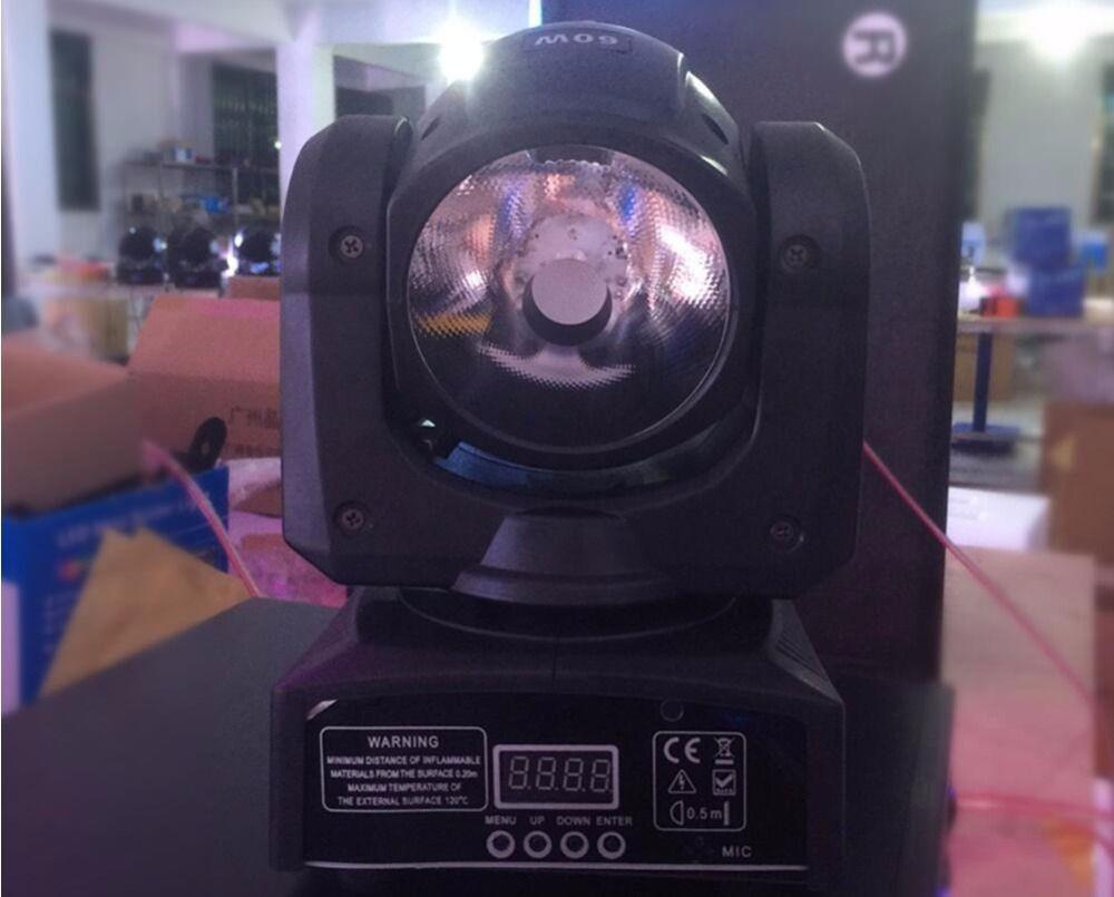 LED 60W beam RGBW 4IN1 beam moving head light beam moving heads lights super bright LED DJ Spot Light dmx control lights