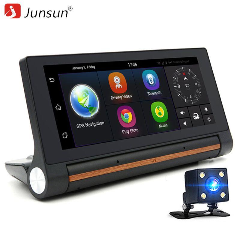 Junsun E27 Car DVR GPS Camera 6.86