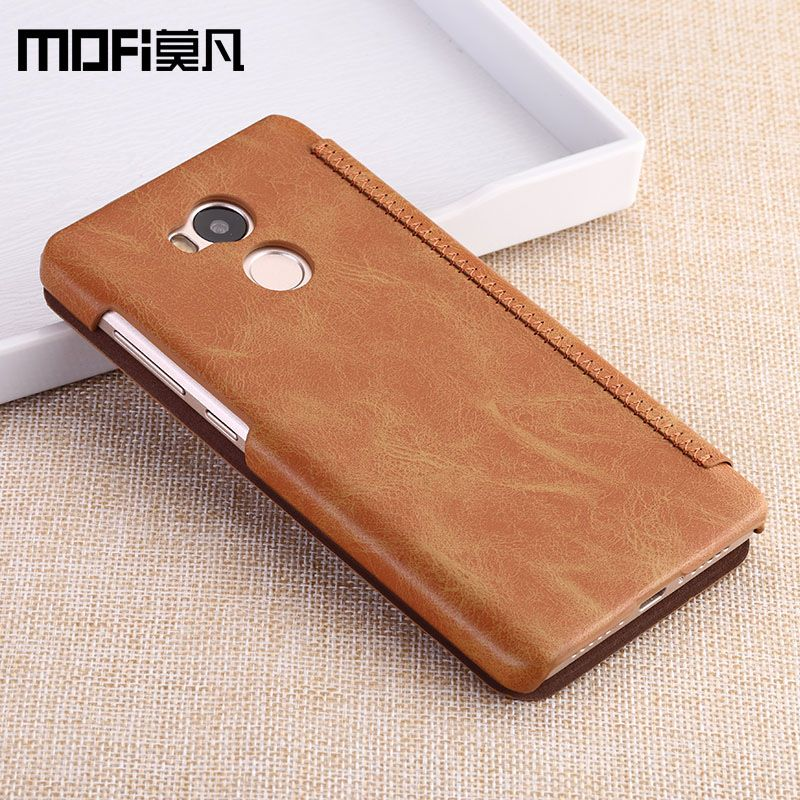 Xiaomi Redmi 4 PRO case flip wallet luxury smooth redmi4 pro PU leather funda mofi original ultra thin anti knock redmi 4 3GB