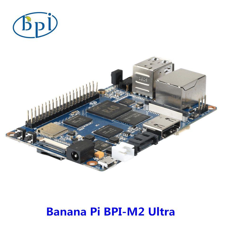 Quad Core R40 Allwinner chip Banana Pi M2 Ultra Development board with WIFI&BT4.0,EMMC Flash memory on board
