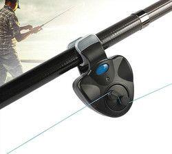 Черный маленький мини электронный беспроводной ABS сигнал укуса рыбы звук бег светодиодный чувствительный мат Рыбалка Аксессуары Бесплатна...
