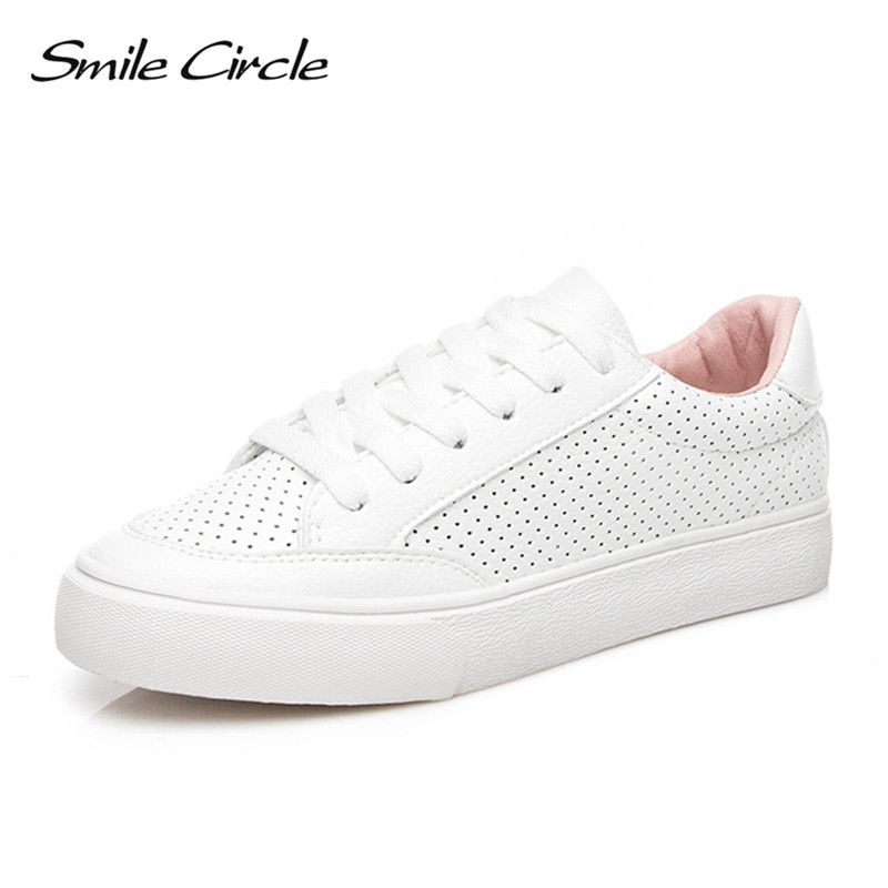 Smile Circle Super soft Winter fur Sneakers White Women Lace-up Flats Shoes Woman Sneakers Fashion Suede Casual Vulcanize Shoes