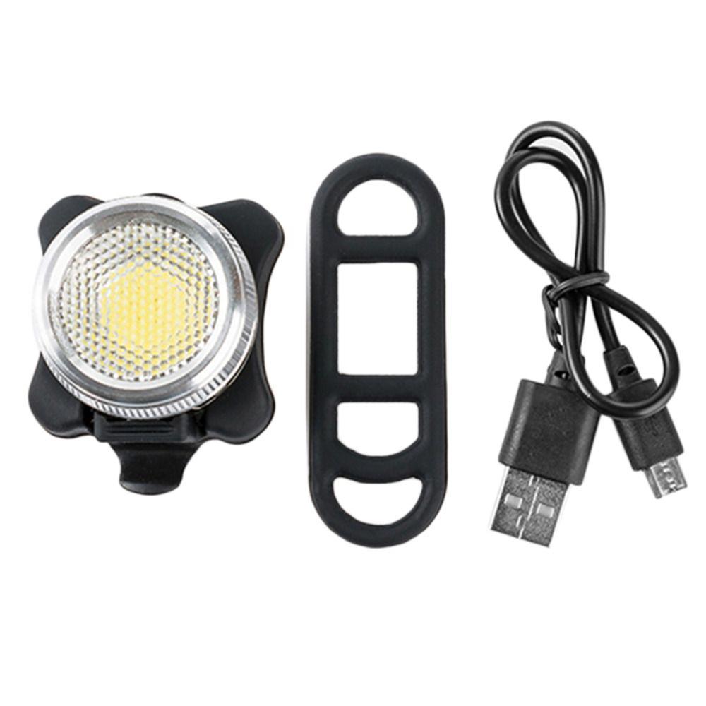 2017 Ultra-helle USB Aufladbare Radfahren Fahrrad Bike COB LED Kopf Vorder Hinten Schwanz Clip Warnung Licht Lampe NEUE heißer