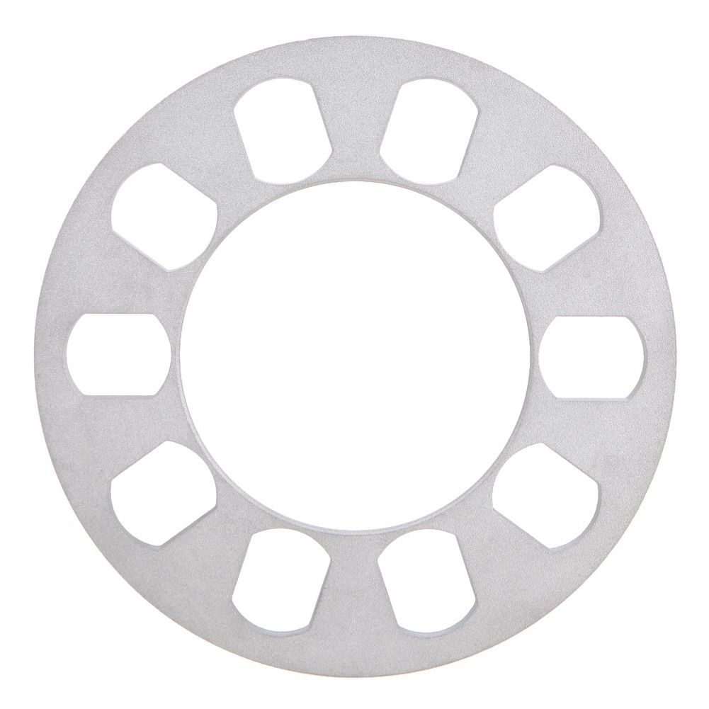 Universal 5Hole 8mm Wheel Spacer Adapter Aluminum Wheel Fit 5 Lug 5X114 5X120 5X112 5X108 5X110 5X135 5X130 Hot Sale Car Styling