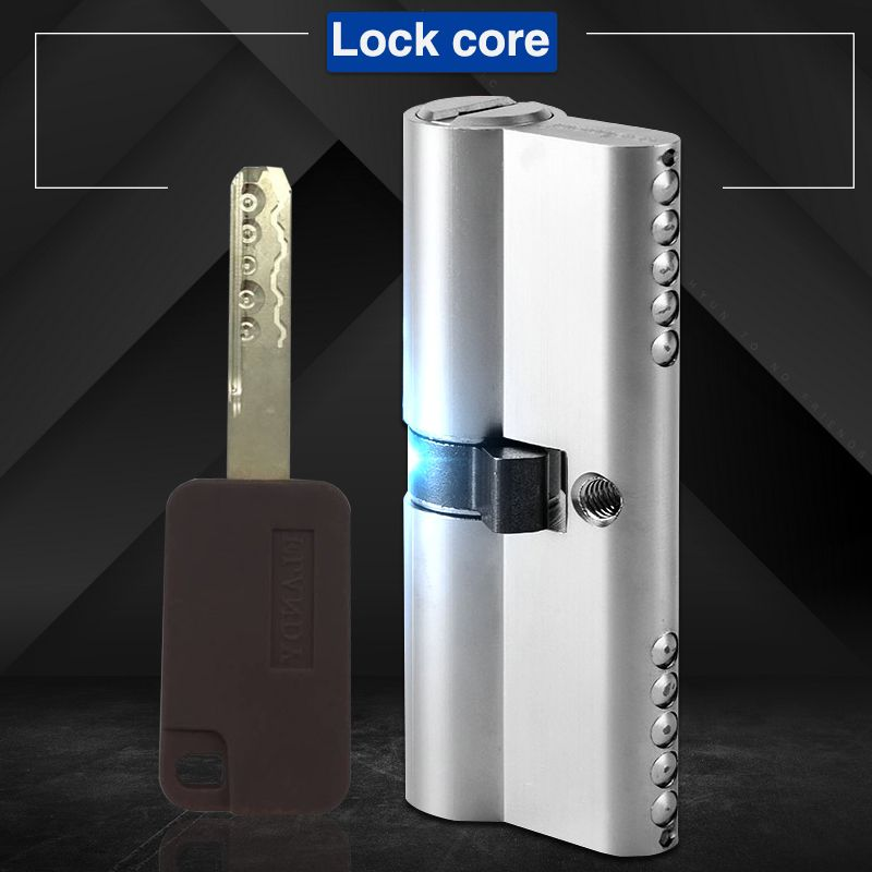 70mm Interchangeable Anti-theft Heavy duty security hotel commercial Grade 2 door handle lever mortise lock body cylinder