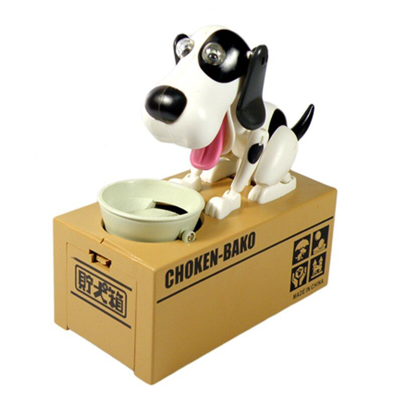 1PCS Cute Cartoon Money-boxes Dog Model Coin Bank Gift <font><b>Supply</b></font> Dog Piggy Bank Children's Day Money Box Money Saving Banks