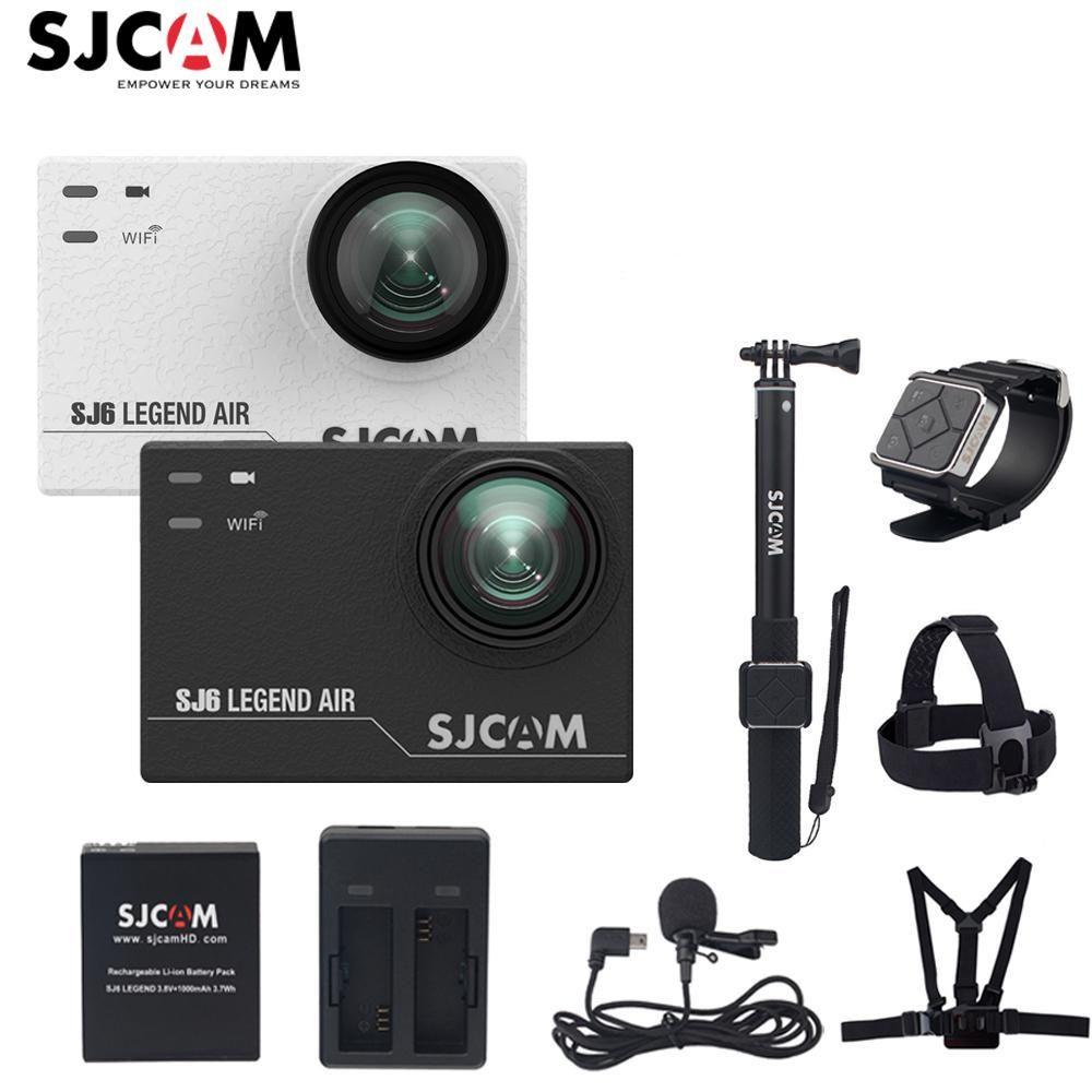 100% Original SJCAM SJ6 LEGEND Air Wifi 4K 24fps 2.0