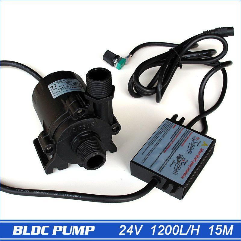 Pompes À haute Pression, Pompe À Eau À Pression 1560LPH 15 M, 5-24 V Large Tension Mini Pompe À Eau Électrique Portable