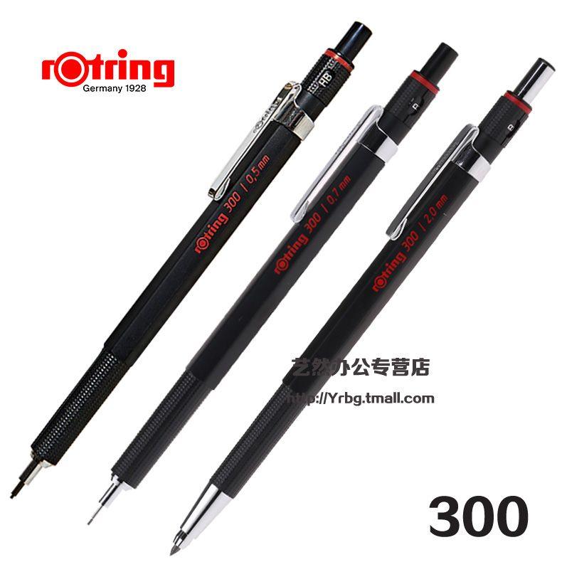 Original rotring 300 crayon mécanique 0.5mm & 0.7mm & 2.0mm