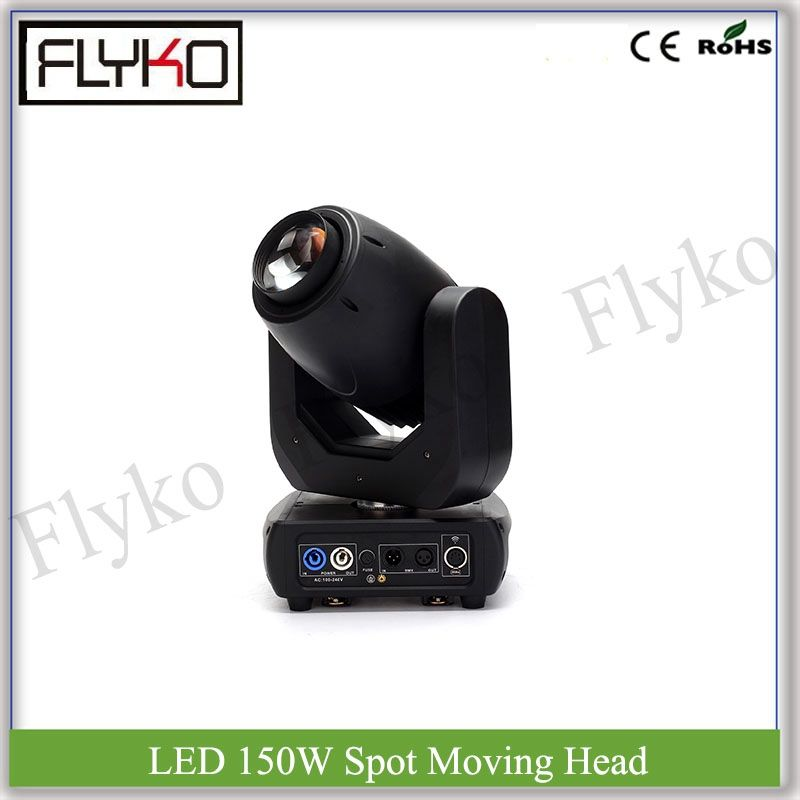 Free shipping spot effect light DMX control 150W led moving head 7 colors light