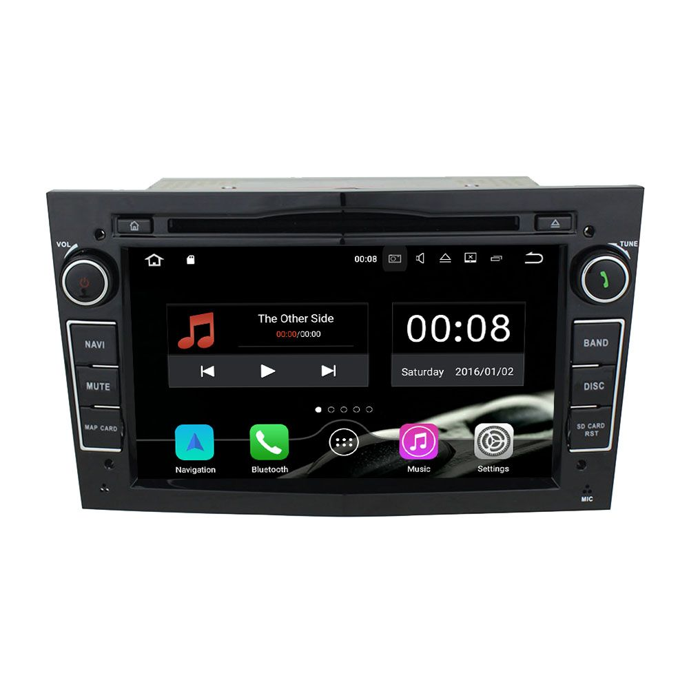 2GB RAM 16GB ROM Quad Core Android 7.1.1 GPS Navi Car Multimedia DVD player Browser for OPEL Astra/Antara/Vectra/Corsa/Zafira