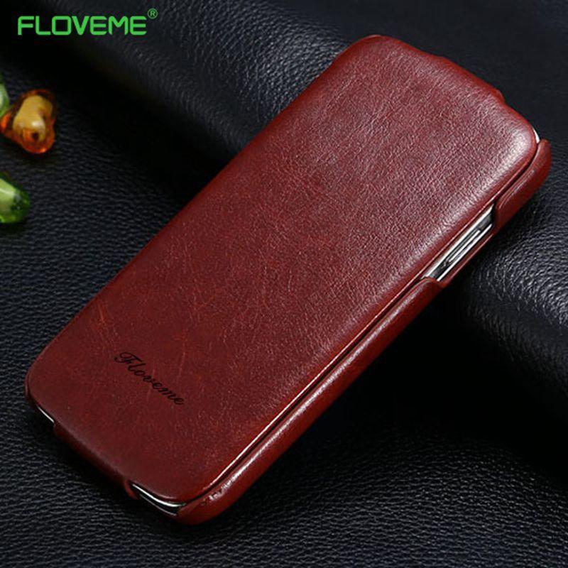 FLOVEME Für iPhone 8 7 6 6 s Plus 5 S SE Fall Certical Flip Leder fall Für iPhone 6 6 s 7 5 5 S SE Magnetische Full Cover Pouch