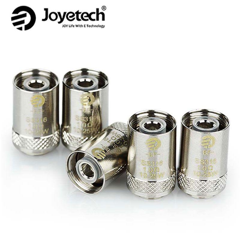 100% Original Joyetech eGO AIO BF bobine CUBIS bobine SS316 0.5ohm/1ohm/0.2ohm/0.6ohm pour CUBIS réservoir/Cubis Pro/eGO AIO/Cuboid Mini