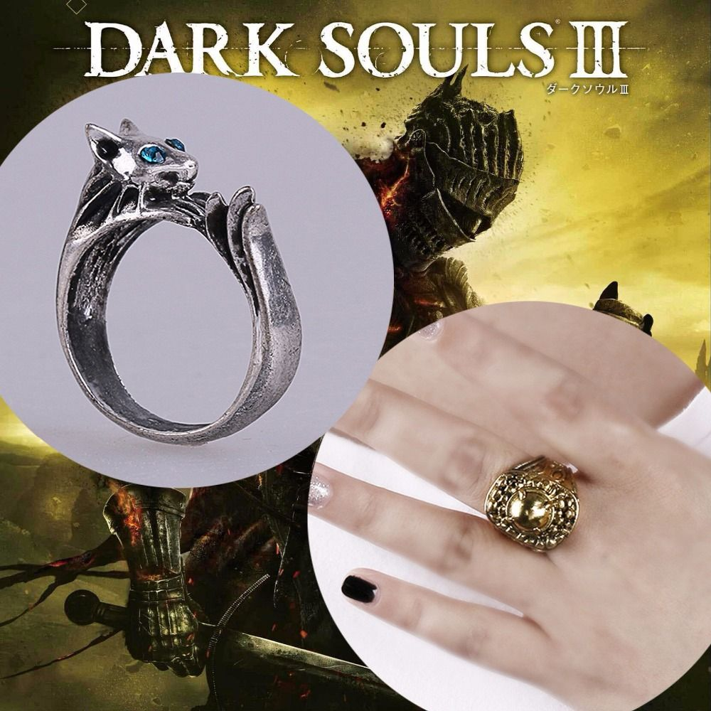 Ring Dark Souls 3 Metal Rings Cosplay Ring Accessories Woman Man Ring High Quality