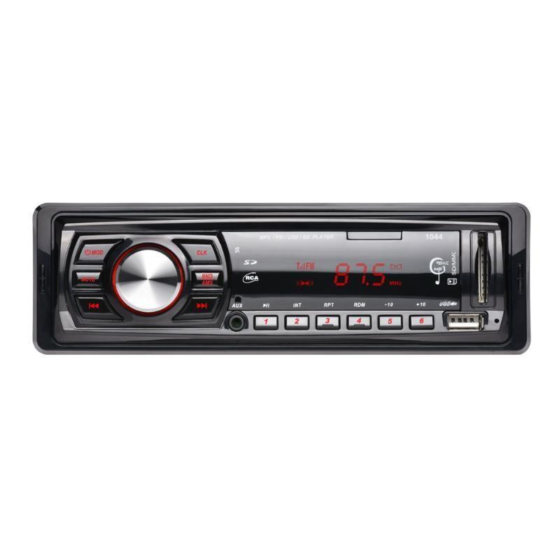 12V Car Radio Vehicle Stereo Audio MP3/WMA Player Car Audio 1 Din USB/MMC/FM/Aux/Remote Control Autoradio Car Accessaries New