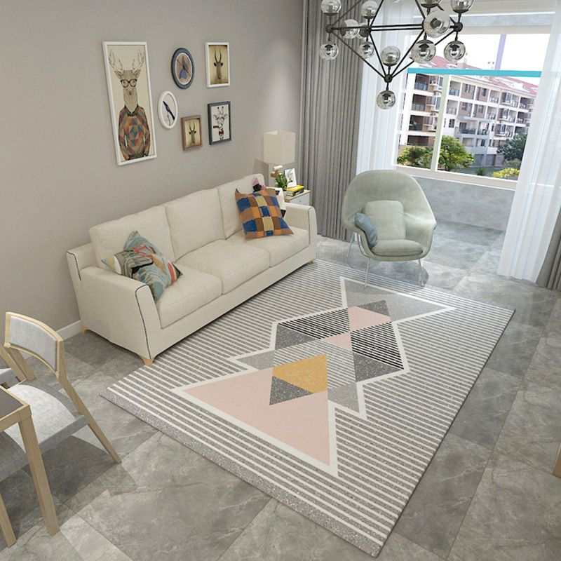 Fashion Trend Carpets for living room Geometric Abstract Large area rugs Antiskid Mat/Rug Home Bedroom Decor Rectangle Carpet