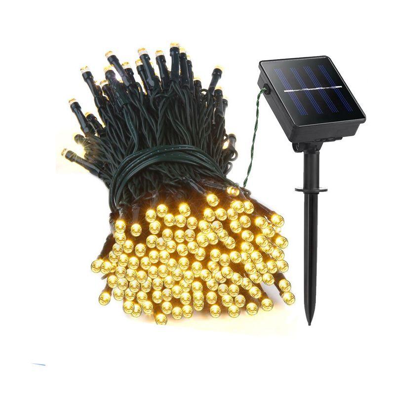 22M 200 LED <font><b>solar</b></font> led string lights Garland Christmas <font><b>Solar</b></font> Lamps for wedding garden party Decoration Outdoor