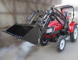 Tractor cargador frontal con cubo para 30-45hp tractor