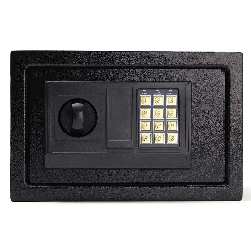 Digital Electronic Safe Box Keypad Lock Wall Security Cash Jewelry Hotel Cabinet Safes