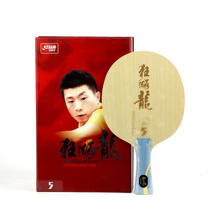 DHS Hurrikan Lange 5 Ma Lange arylate carbon ALC schläger professionelle tischtennis klinge ping pong bat paddel