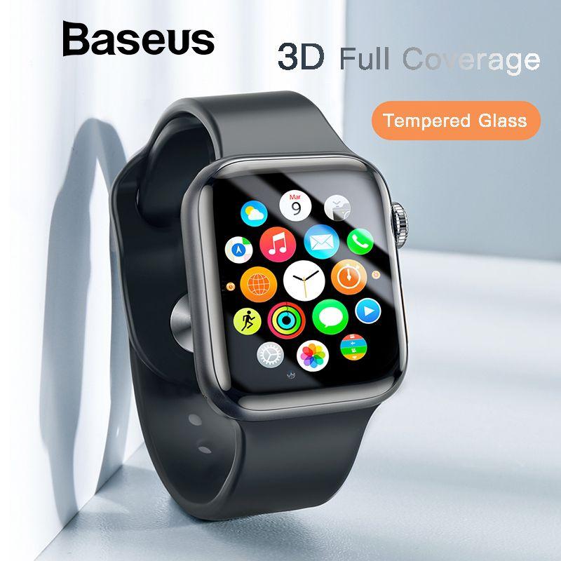 Baseus 0,23mm Dünne Schutz Glas Für Apple Uhr 1 2 3 3D Volle Abdeckung Aus Gehärtetem Glas Für iWatch 1 2 3 Screen Protector Film