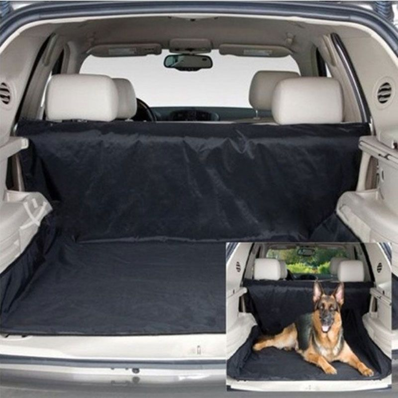 Dog Carrier Car Seat Blanket Cover Rear Back Seat Pet Carrier Dog Mat Rear Seat Hammock for Dogs Cushion Protector Multifunction