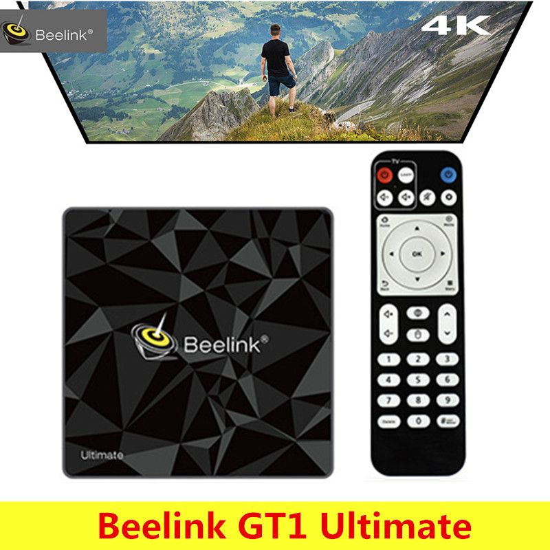 Beelink GT1 Ultimate Android 7.1 Smart TV Box Amlogic S912 Octa Core CPU Bluetooth4.0 5G WiFi Set Top Box 4k Media Player