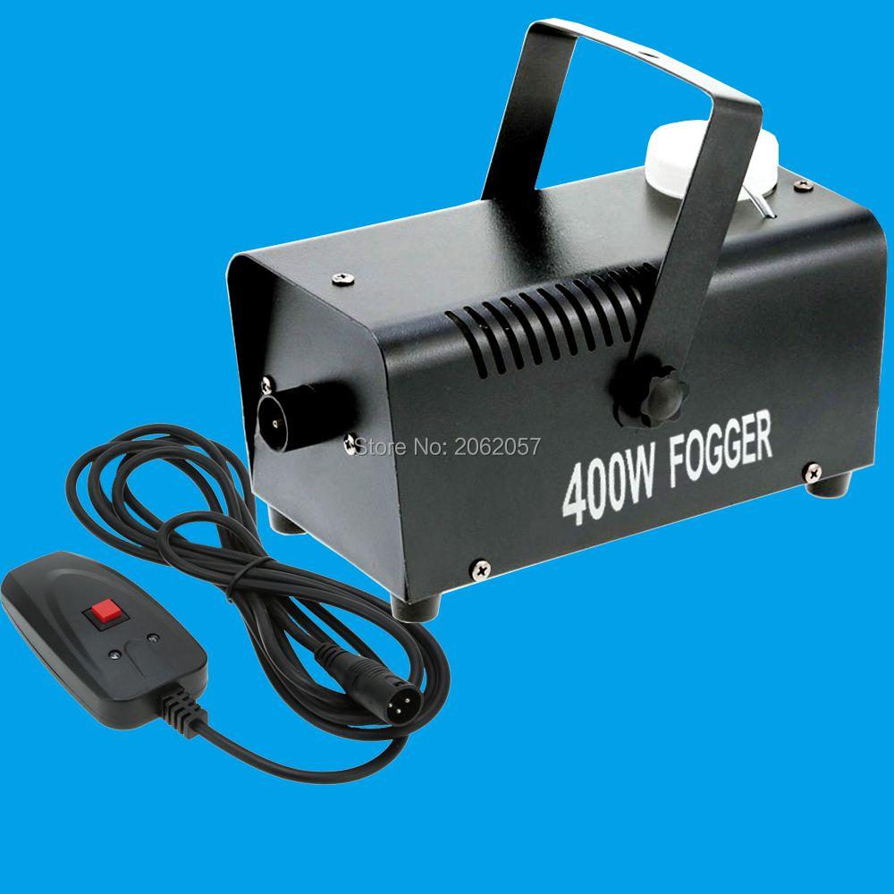 High quality mini 400W Wire control smoke machine 3m wire fog machine machine for wedding party stage Lampblack machine