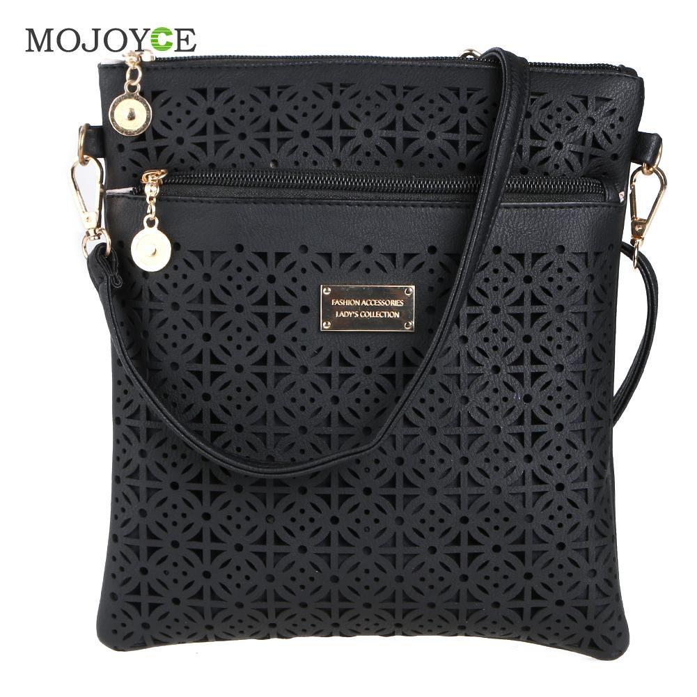 Sacs à main de luxe femmes sacs Designer évider femmes Messenger sacs épaule sac à bandoulière femmes en cuir sacs à main Bolsa Feminina