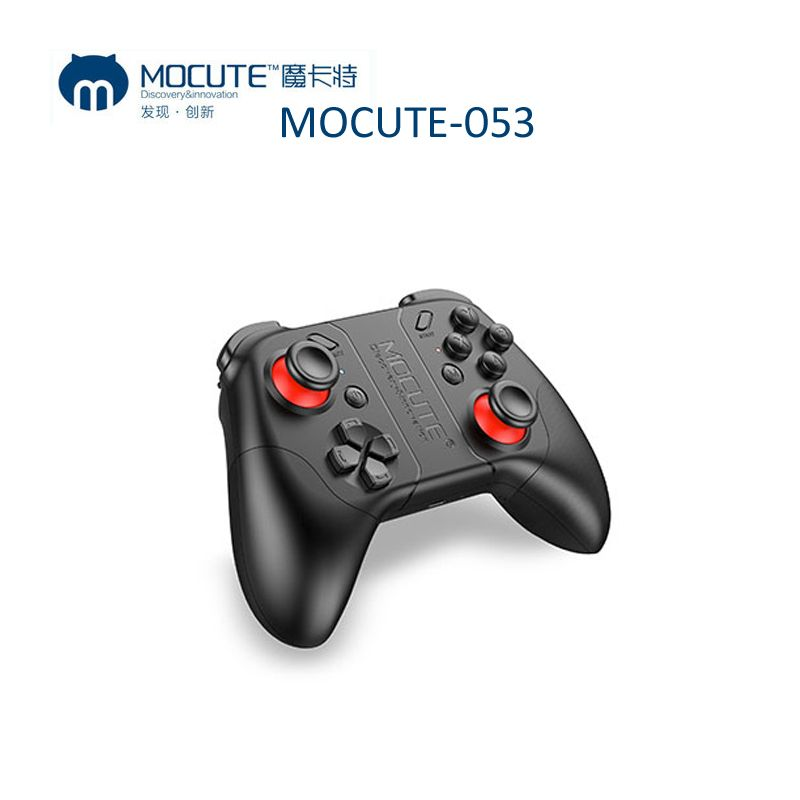2017 Nuevo mocute 050 actualización 053 Bluetooth GamePad Android PC controlador inalámbrico VR game pad para PC teléfono inteligente para VR Box TV