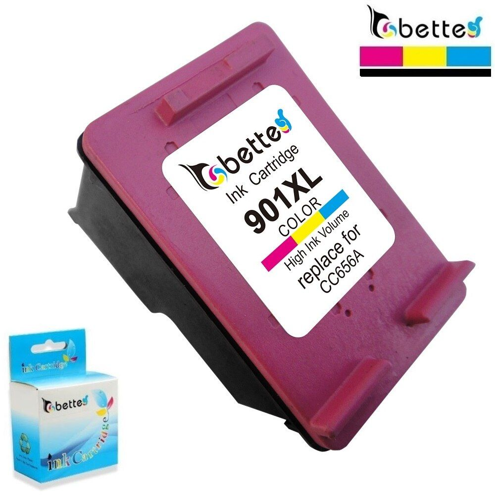 Colour Ink Cartridge for HP 901 XL hp901 Officejet 4500 All-in-One G510 G510g G510h 4500 Desktop G510a G510b 4500 Wireless G510n