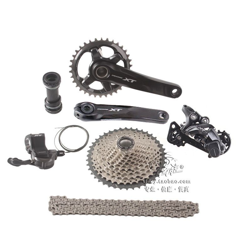SHIMANO DEORE XT M8000 1x11 11S Speed 34T 170mm 11-42T 11-46T MTB Mountain Bike Groupset