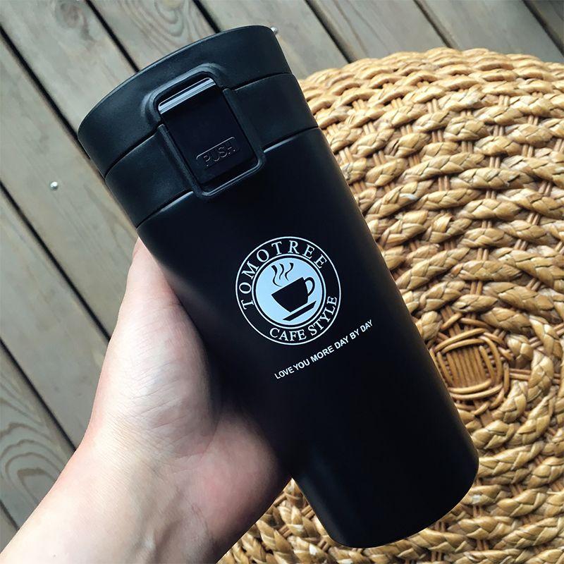 Qualité professionnelle 304 18/8 en acier inoxydable thermo tasse voyage café tasse thermos vide Thermique Tasse ballon tasses et tasses tumbler