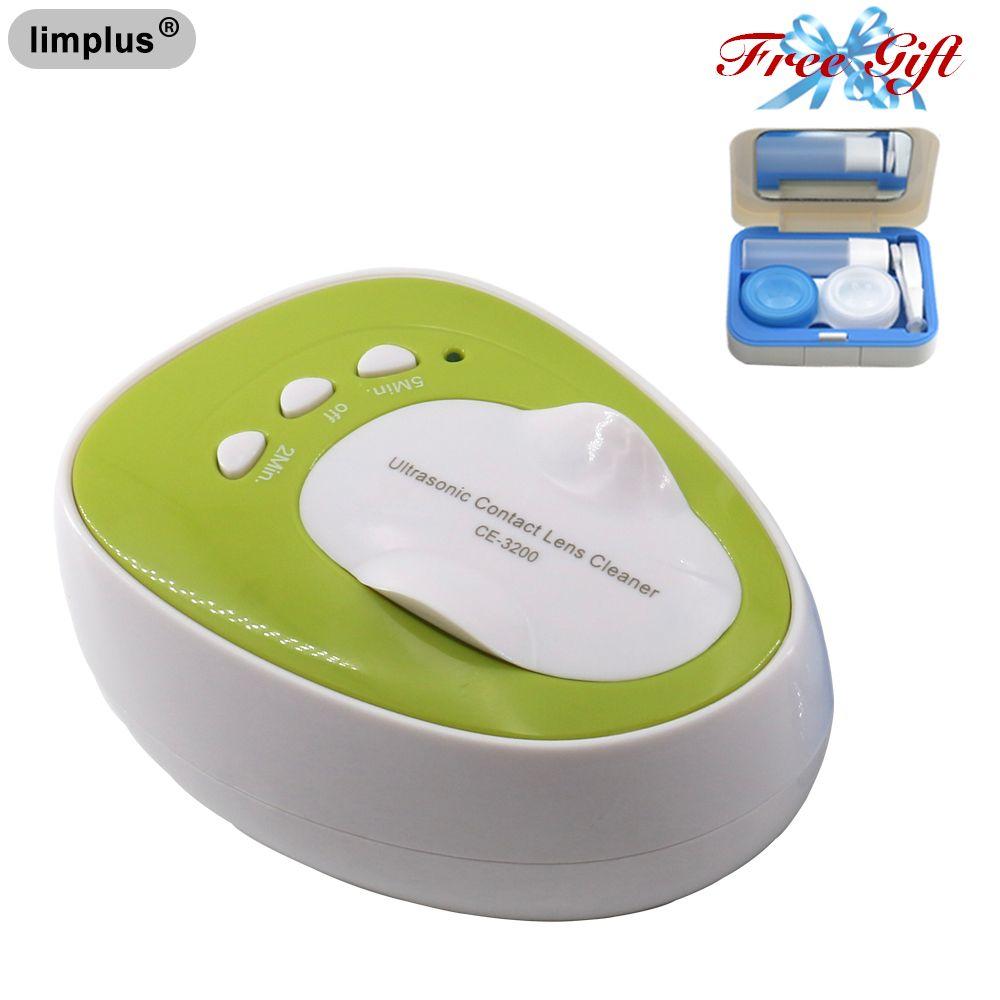 Limplus 4ml Mini lentille de Contact nettoyeur à ultrasons 7W 46KHz Machine de nettoyage soin quotidien nettoyeur à ultrasons