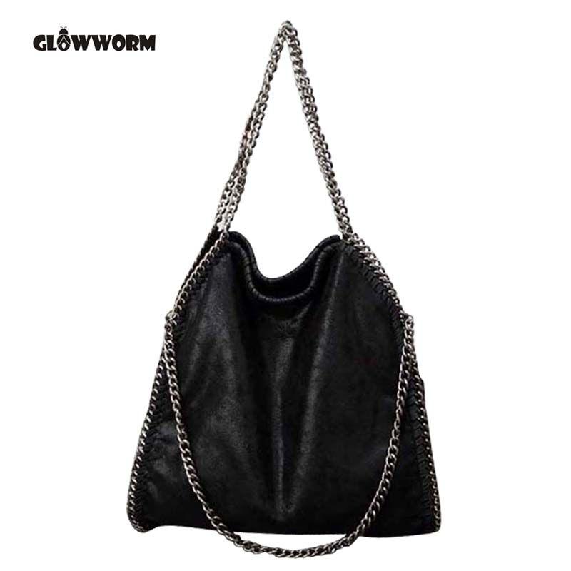 Для женщин сумка falabellas Tasche с 3 цепи вечерние Bolso светское ТОТЕ Мода мешок основной леди торба CX258
