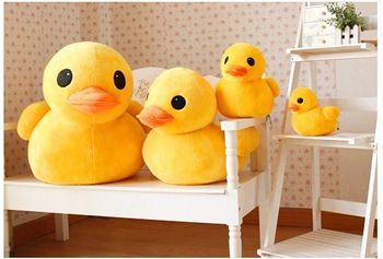 Plush Yellow Duck ,Animal model,Baby Cute cartoon toys 11cm