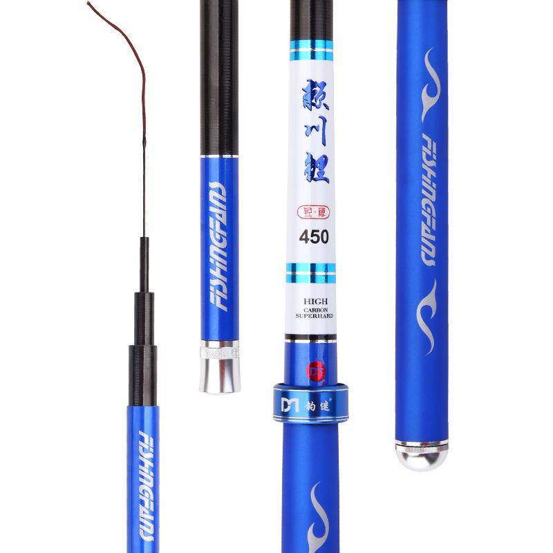 Hochwertige Angelrute Teleskop Strom Taiwan Angelrute Cane 28 Super Light Ultraharten Hohem Kohlenstoff Angeln Hand Stange