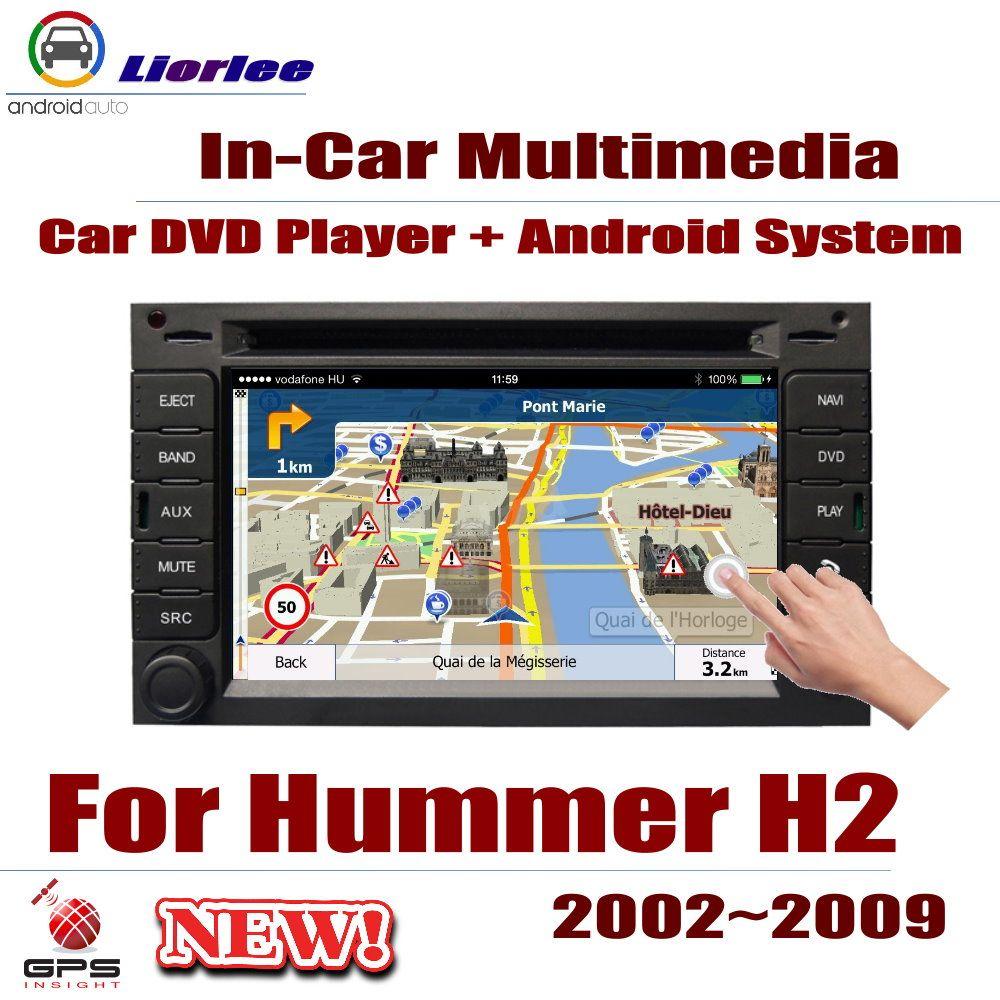 Auto Radio DVD-Spieler GPS-Navigation Für Hummer H2 2002 ~ 2009 Android HD Displayer System Audio Video Stereo In dash Head Unit
