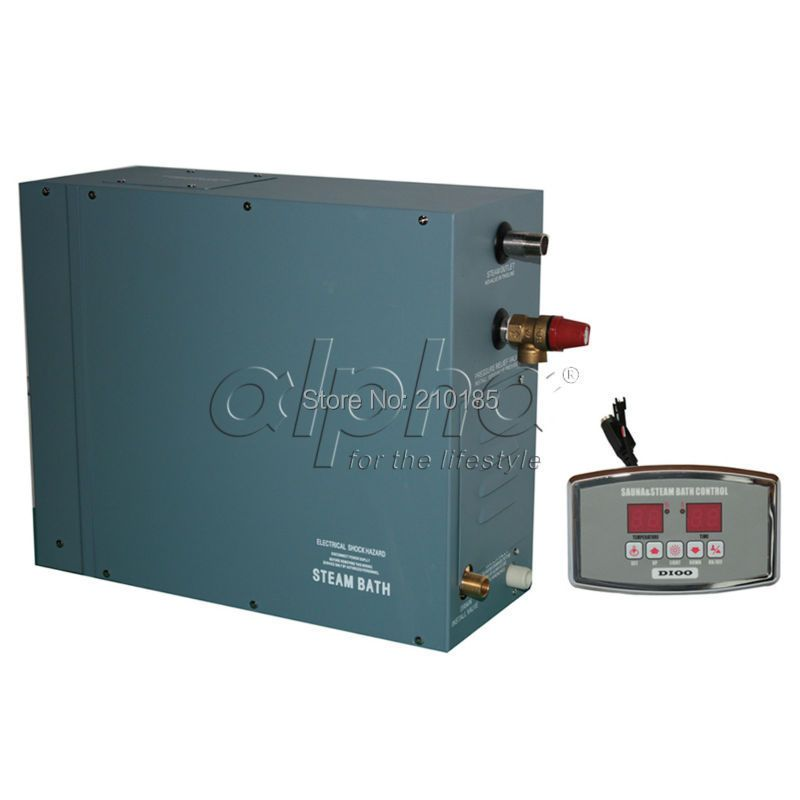 6.0KW380-415V 50HZ 3 phase factory supply Professional Steam Generator Home SPA Shower Sauna Bath Aesthetic Design