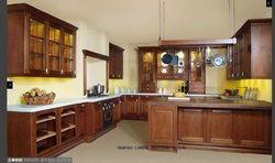 Модульная DIY деревянный кухонный шкаф (lh-sw042)