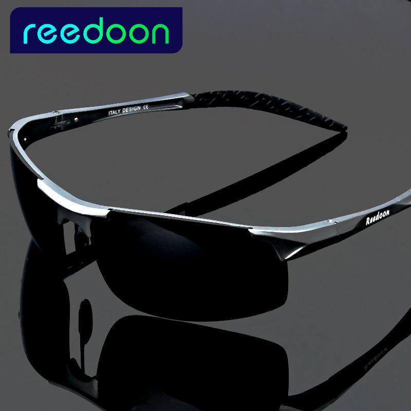 2017 polarisées Hommes de lunettes de soleil en aluminium de magnésium cadre voiture conduite lunettes de soleil hommes sport pour la pêche de golf 8177