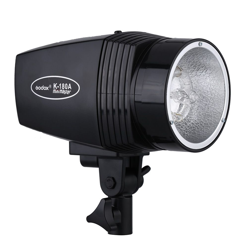 GODOX K-180A EU/US Plug Master 180W Studio Strobe Video Light Compact Flash Light Lamp for Portrait Fashion Wedding Photography