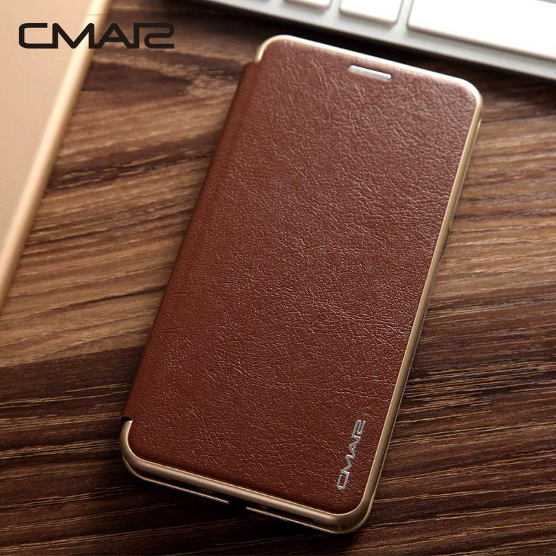 Note 9 Magnétique Flip Cover Housse En Cuir Pour Samsung Galaxy S9 S8 plus S7 S7edge Note 8 Cas Avec support de Stand de téléphone