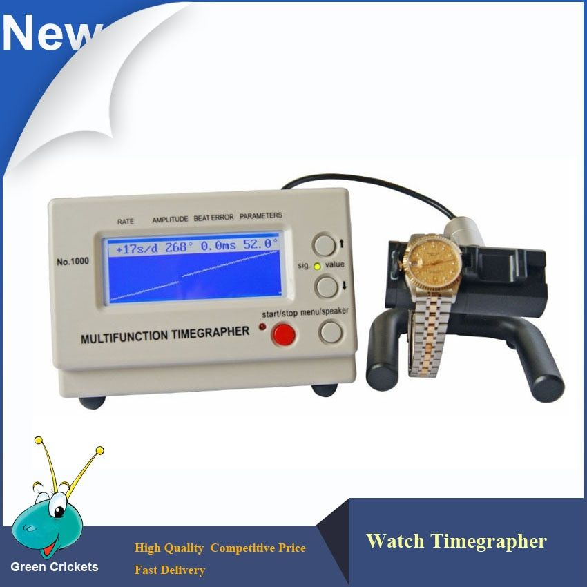 No.1000 Mechanical Watch Timegrapher,Multi-Functions watch Timing Test Timegrapher