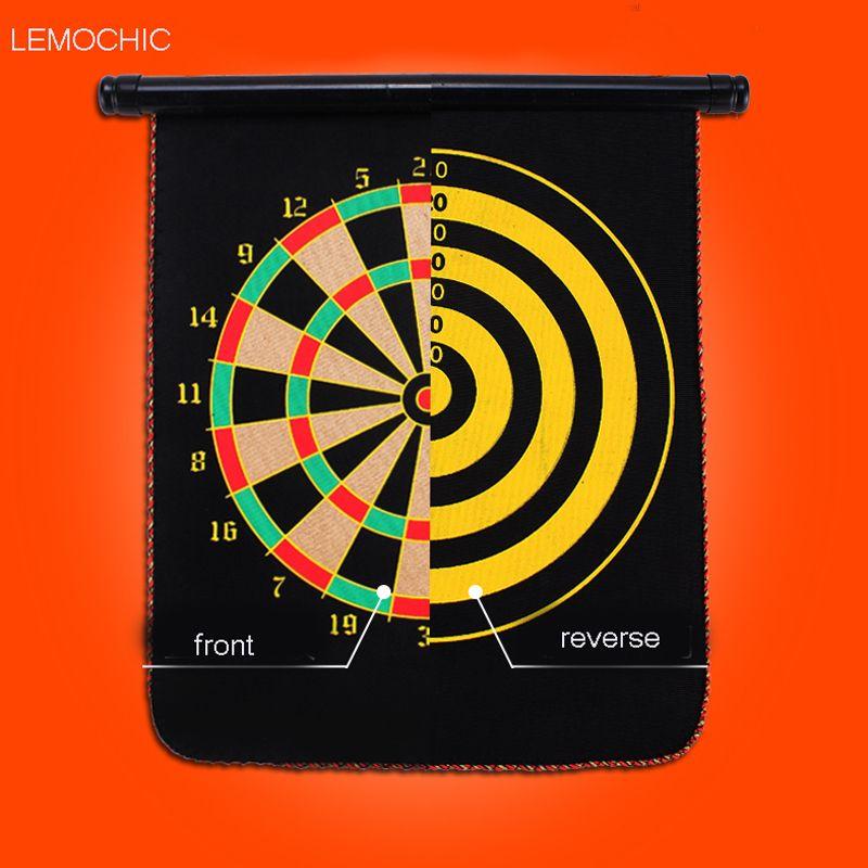LEMOCHIC tamaño tres para elegir magnético conjunto de doble cara tablero de dardos dardos dartboard magnetismo de Entretenimiento