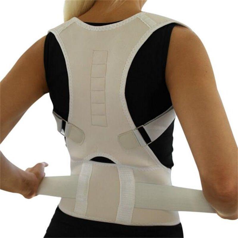 Magnetic Back Shoulder Lumbar Support Belt Orthopedic Corset Back Posture Corrector Brace Posture Correction Belts for Men Women