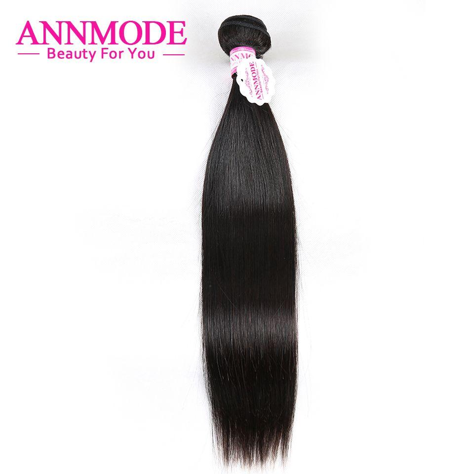 [Annmode] pelo recto Malasio para una PCs envío gratuito color natural no Remy Cabello humano puede comprar 1 /2/3/4/5/6/7 paquetes